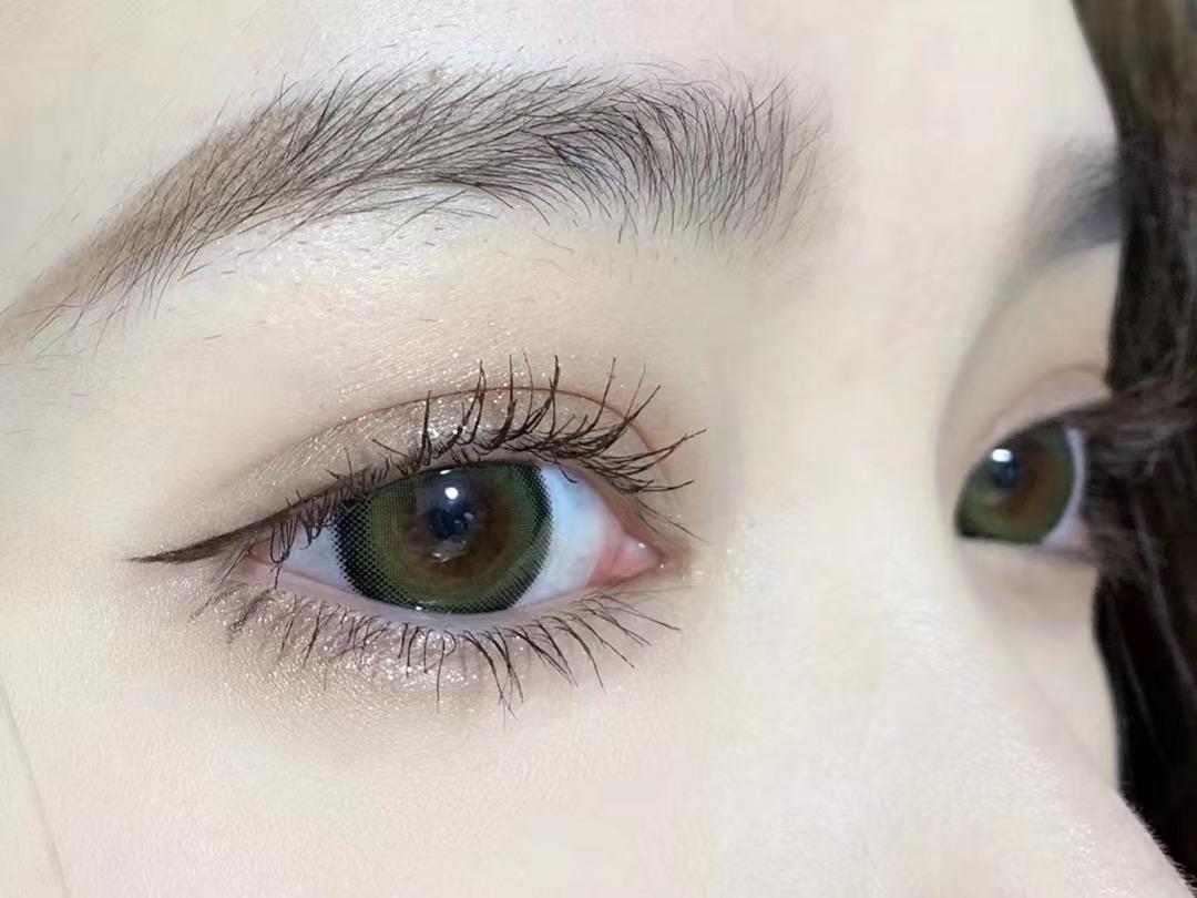 MiniLens 多汁奇异果绿 美瞳产品展示